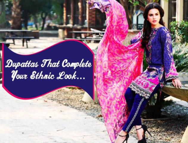 Latest Dupatta Trends @TheRoyaleIndia