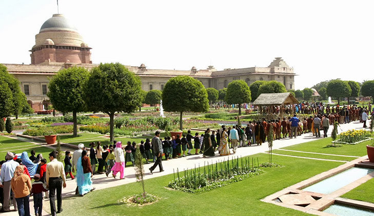 Mughal garden delhi flower show @TheRoyaleIndia