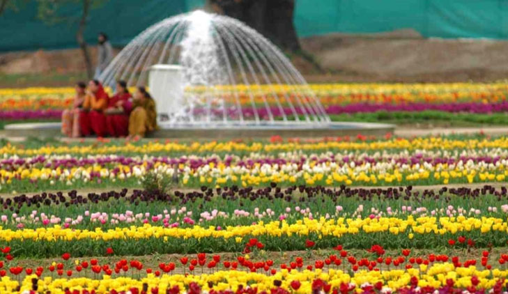 Mughal garden udhyanotsav @TheRoyaleIndia