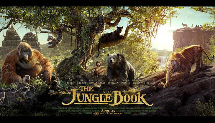 The jungle book releasing april @TheRoyaleIndia