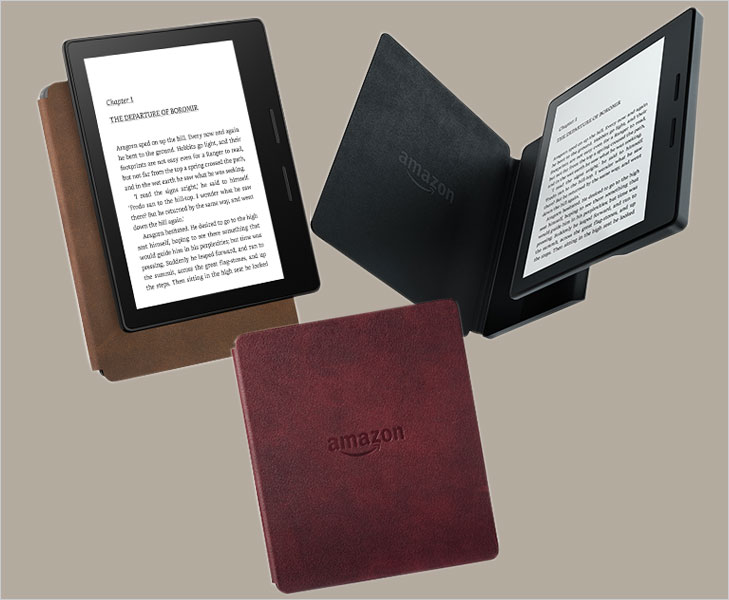 Amazon kindle oasis cover @TheRoyaleIndia