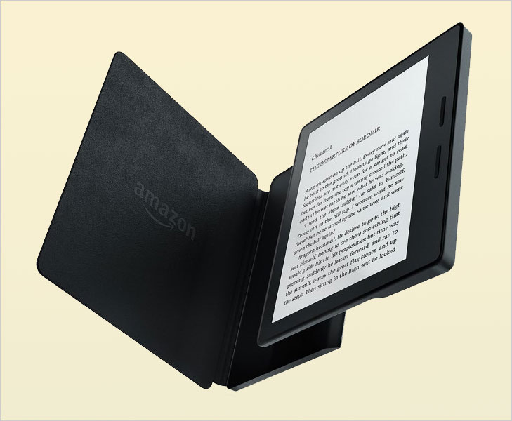 Amazon sleek kindle oasis @TheRoyaleIndia