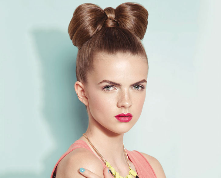 bow bun @TheRoyaleIndia