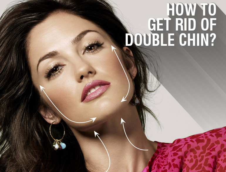 how to get rid of a double chin @TheRoyaleIndia