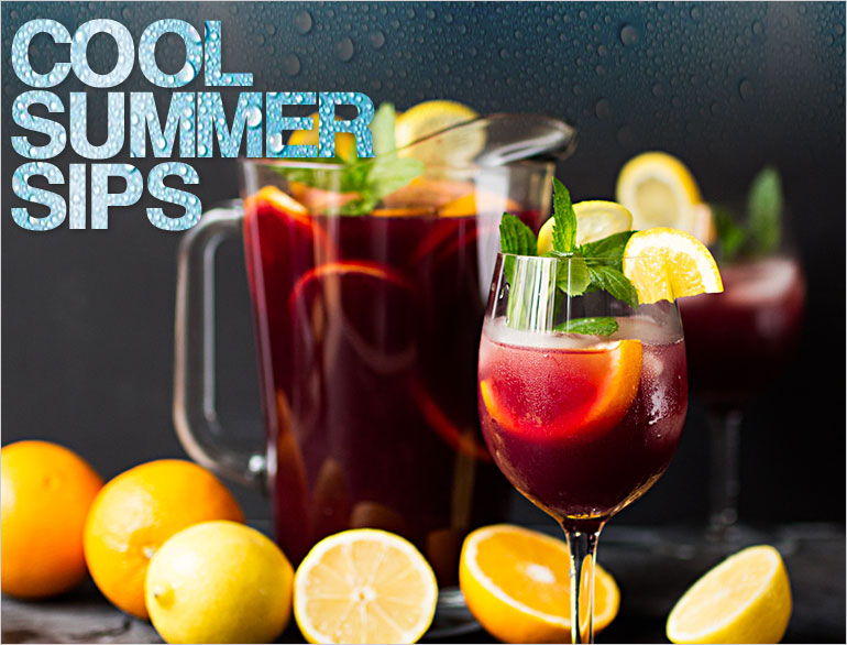 cool summer sips @TheRoyaleIndia