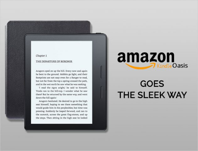 Amazon kindle oasis @TheRoyaleIndia