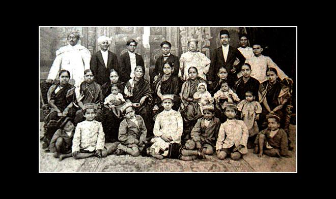 Dadasaheb phalke family