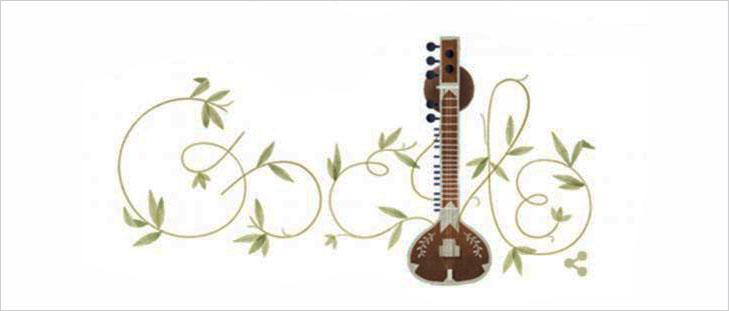 Google doogle pandit ravi shankar @TheRoyaleIndia