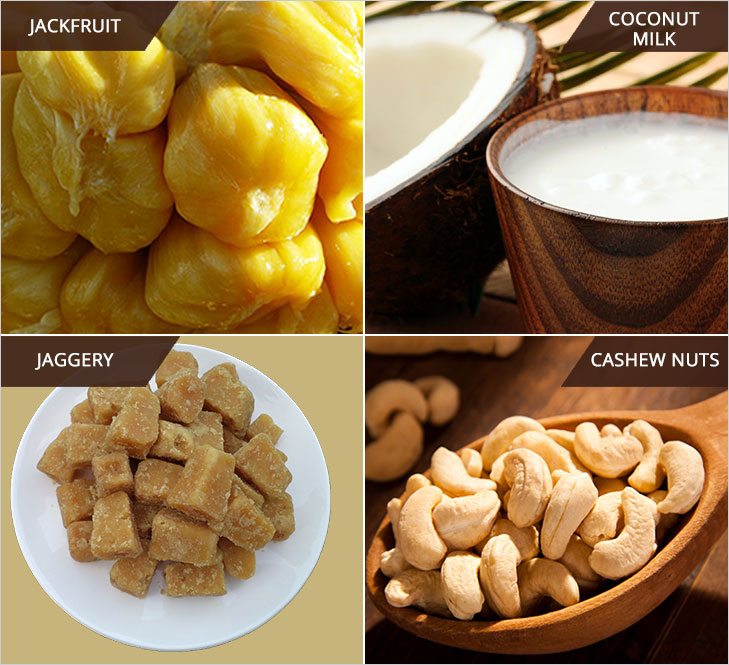 Jackfruit shake ingredients @TheRoyaleIndia