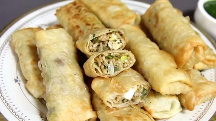 Maggi spring rolls recipe @TheRoyaleIndia