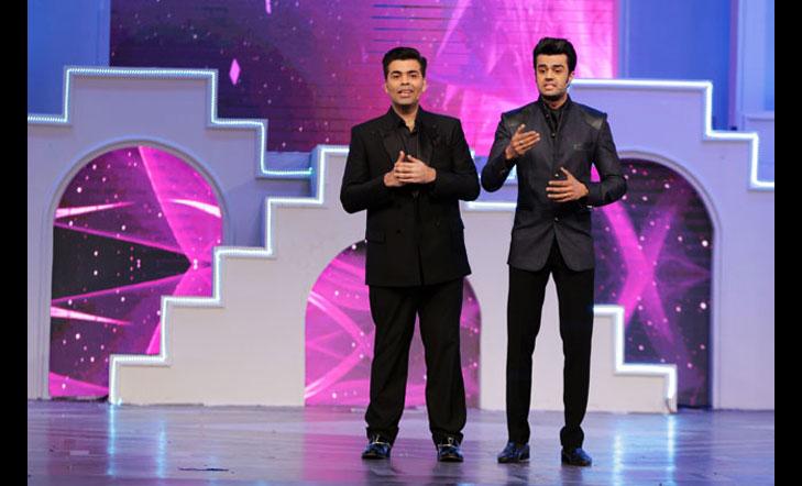 Manish paul karan johar host miss india event @TheRoyaleIndia