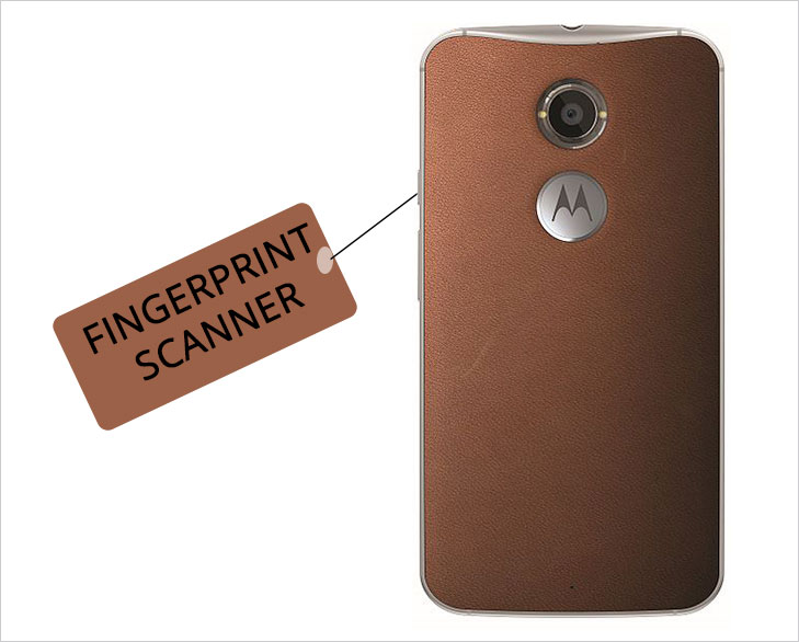 Moto G4 fingerprint scanner