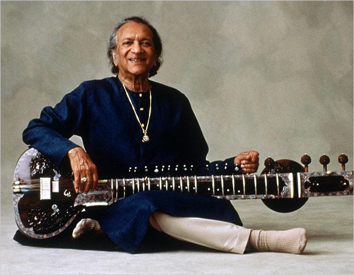 Pandit ravi shankar playing sitar @TheRoyaleIndia