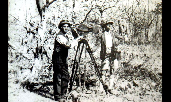 phalke first movie camera
