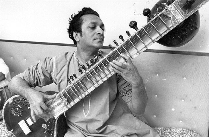 Ravi shankar early days @TheRoyaleIndia