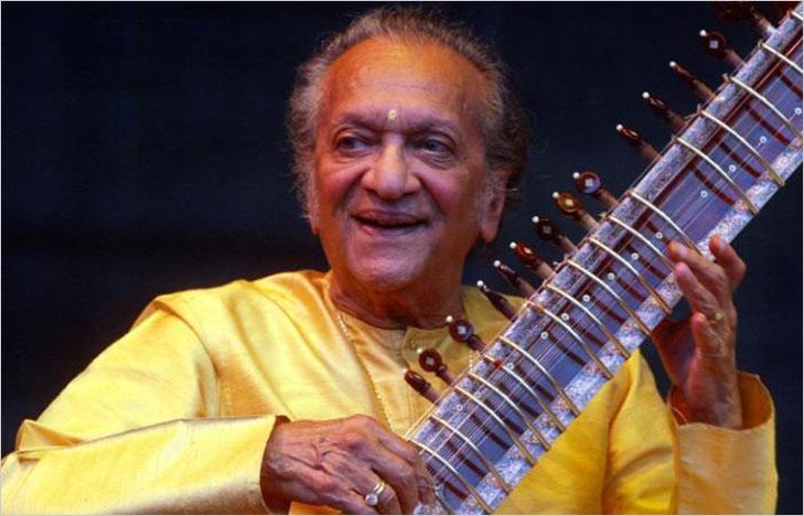 Ravi shankar playing sitar @TheRoyaleIndia