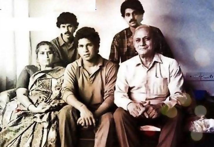 Sachin family parents @TheRoyaleIndia