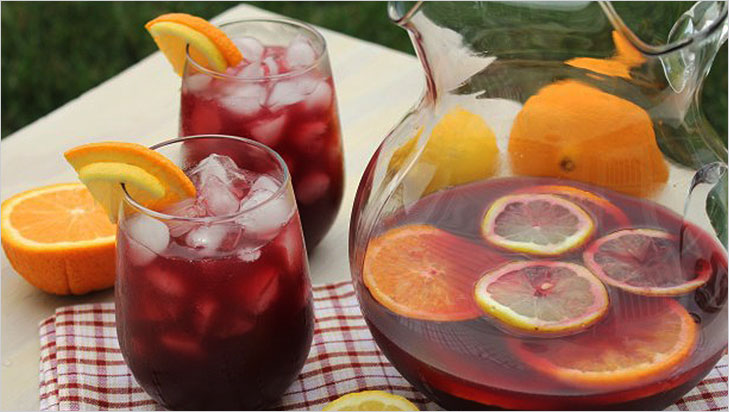 Sangria summer coolant @TheRoyaleIndia