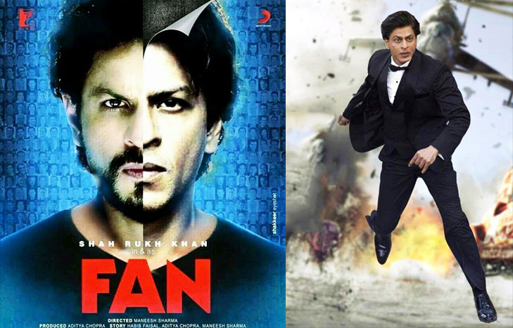 Shah rukh double role fan @TheRoyaleIndia