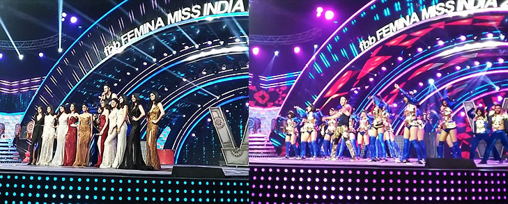 Varun dhawan perform miss india @TheRoyaleIndia