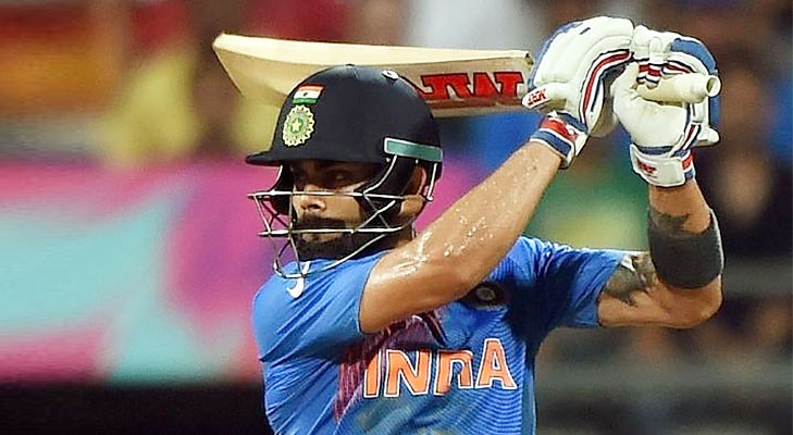 Virat kohli 89 not out semi final T20 @TheRoyaleIndia
