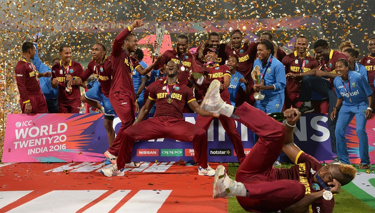West indies world champions T20 2016 @TheRoyaleIndia
