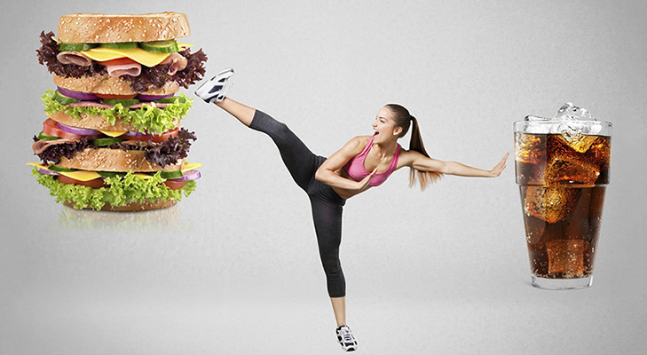 Avoid junk food fitness mantra @TheRoyaleIndia