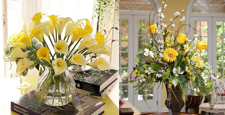 Bring Earth element to home yellow flowers @TheRoyaleIndia