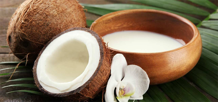 Coconut creame hair mask