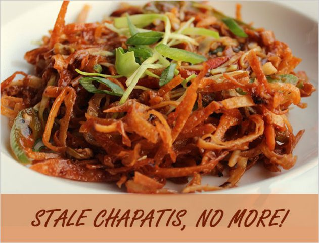 leftover chapati recipe @TheRoyaleIndia
