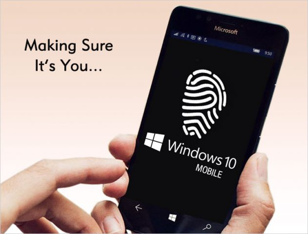 Windows 10 Fingerprint scanner @TheRoyaleIndia