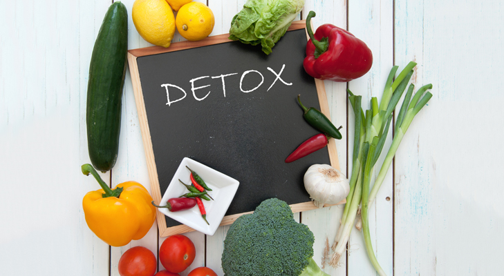 Detox diet stay healthy @TheRoyaleIndia