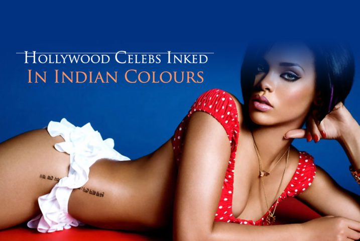 hollywood celebrities indian tattoo @TheRoyaleIndia