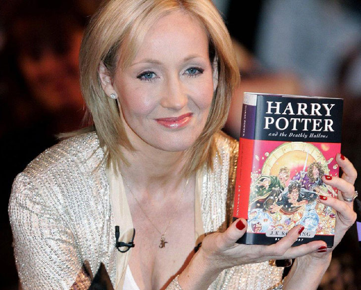 JK Rowling harry potter rejected @TheRoyaleIndia