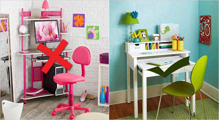 Kids room study table vastu tips @TheRoyaleIndia