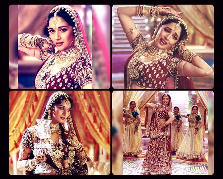 Madhuri 30kg lehenga dance