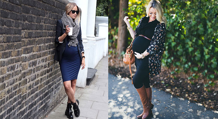MAternity fashion tips accessories