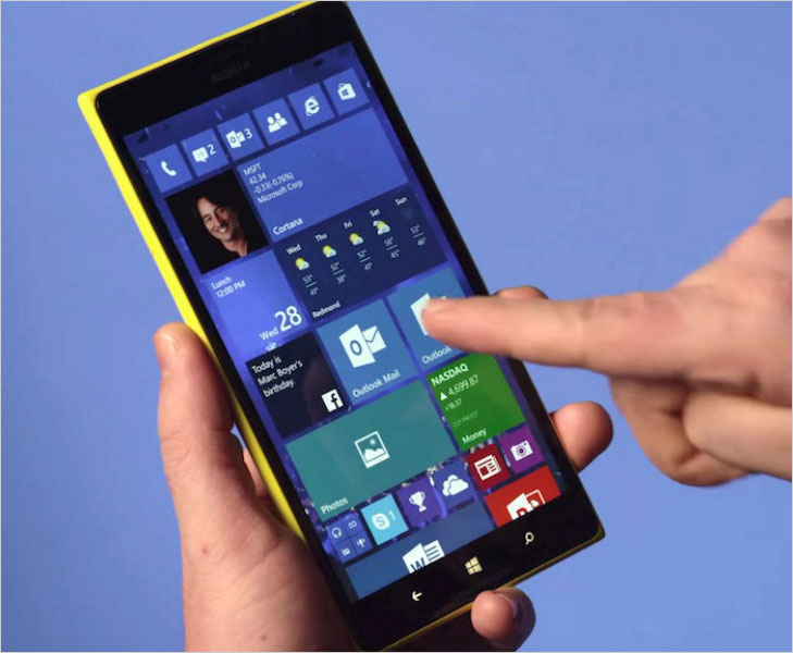 Microsoft windows 10 fingerprint scanne