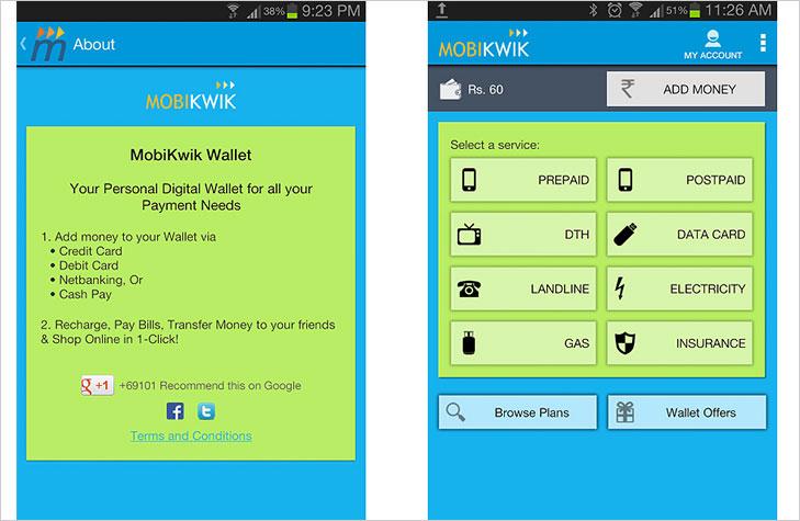 Mobikwik ewallet payment