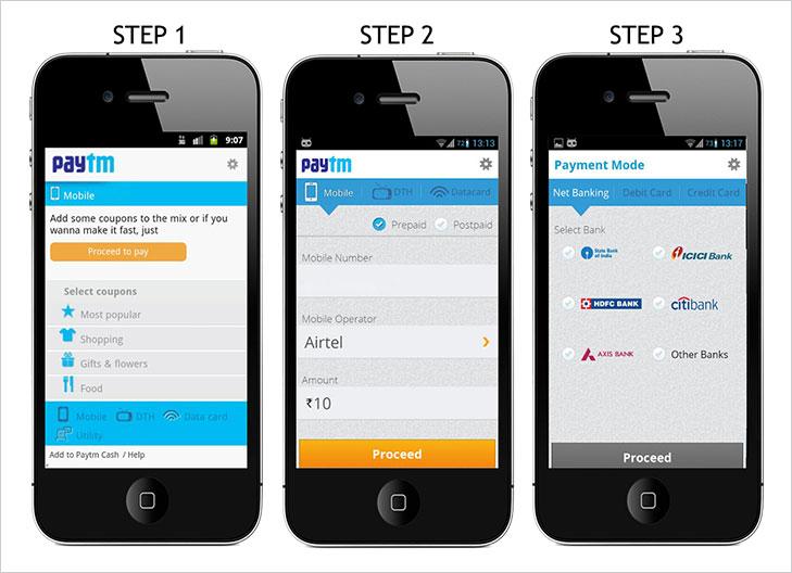 Paytm ewallet mobile app