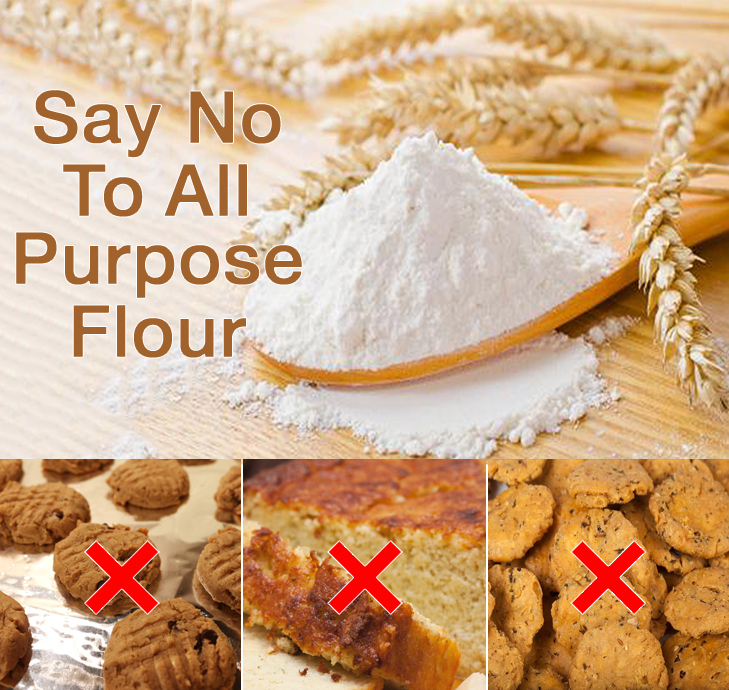 Image result for say no to refined flour