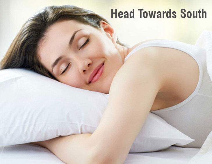 Vastu good health sleep position @TheRoyaleIndia