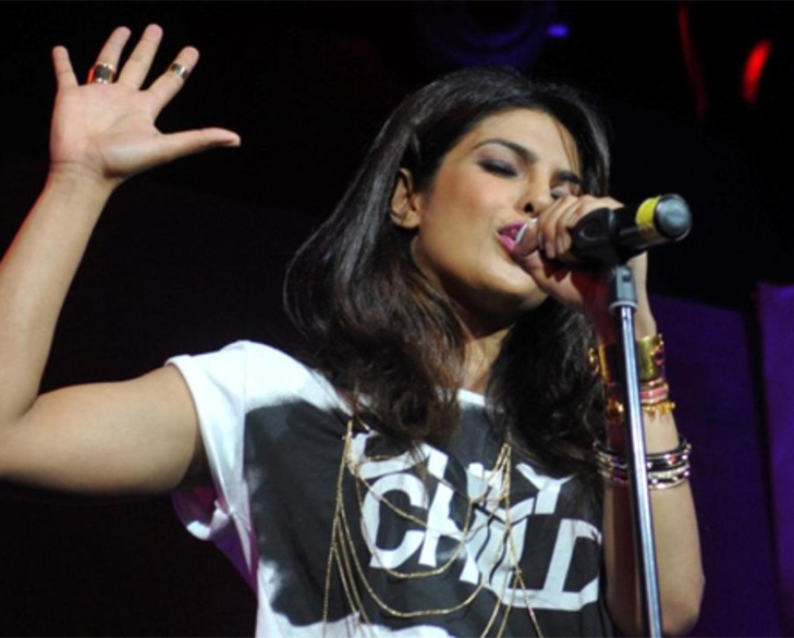 Bollywood celebrities hobbies priyanka chopra singing @TheRoyaleIndia