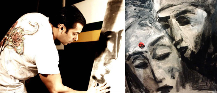 Bollywood celebrities hobbies salman khan painting @TheRoyaleIndia