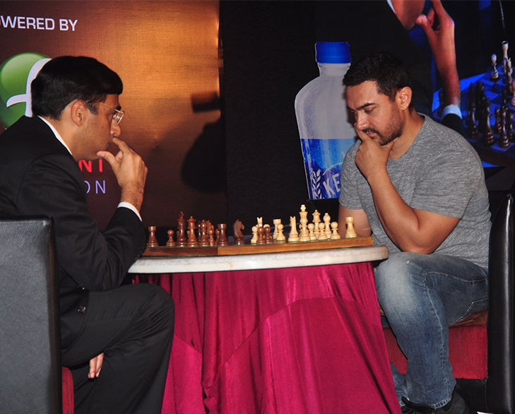 Bollywood celebrities talents aamir khan chess @TheRoyaleIndia