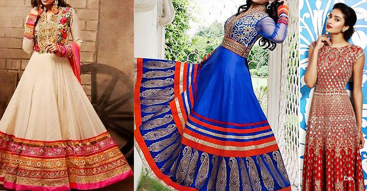 Bridal lehnga anarkali suit @TheRoyaleIndia