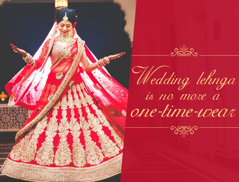 Ways to re-use wedding lehnga @TheRoyaleIndia