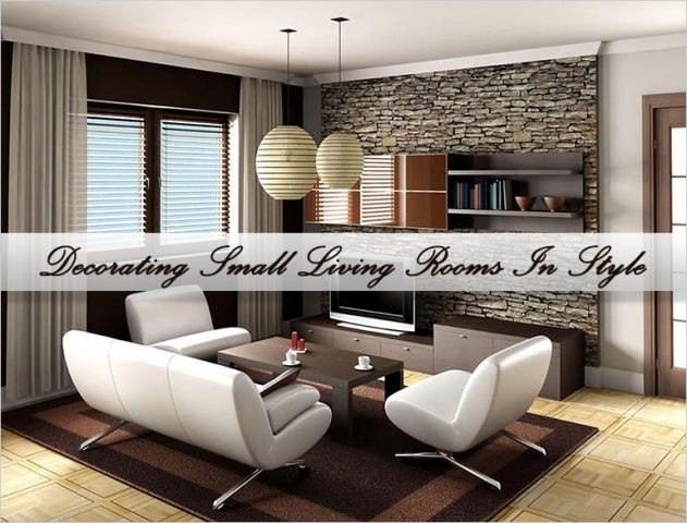 Small Living Rooms decor tips @TheRoyaleIndia