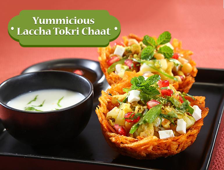 Laccha Tokri Chaat recipe @TheRoyaleIndia