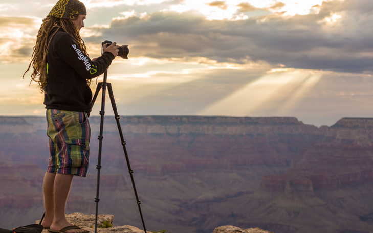 Landscape photography tips use tripod @TheRoyaleIndia